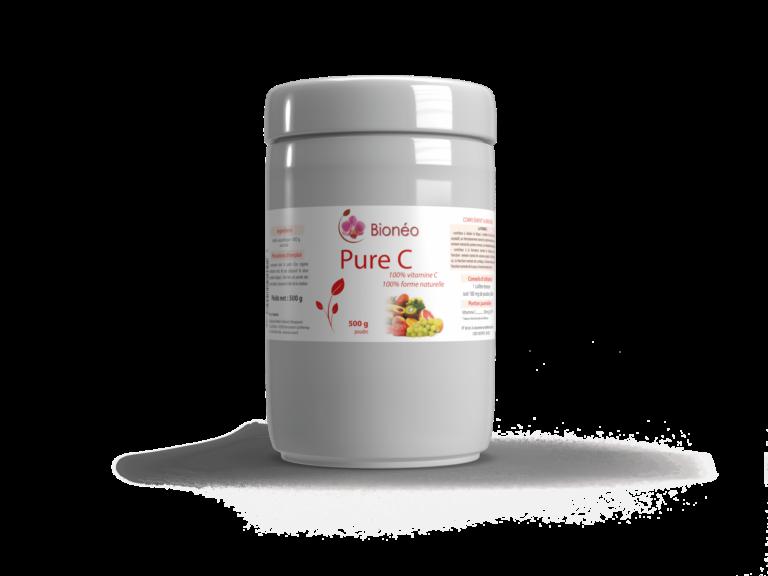 Vitamine C poudre 500 gr. pure 100%